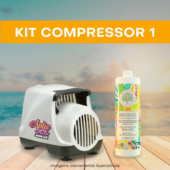 KIT 1 (Compressor + 1 litro)