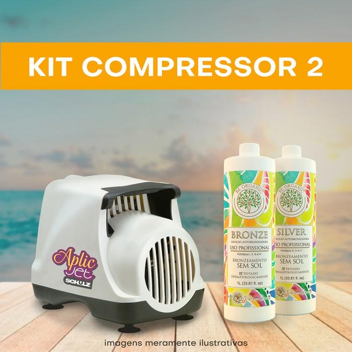 KIT 2 (Compressor + 2 litros)
