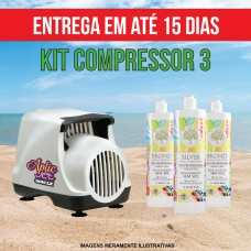 KIT 3 (Compressor + 3 litros)
