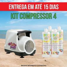 KIT 4 (Compressor + 4 litros)