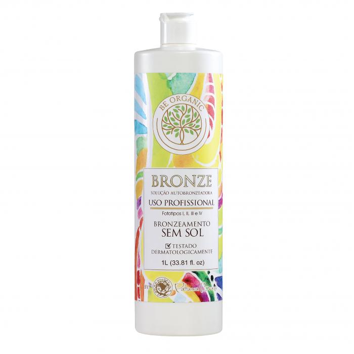Solução Bronzeadora Be Organic - Bronze - (1000ml)