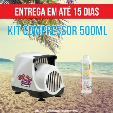 KIT 500ML  (Compressor + 500 ml)