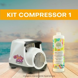 KIT 1 (Compressor + 1 litro)