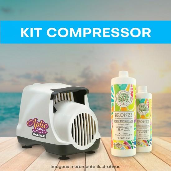 KIT Compressor (Compressor + 1 litro + 500ml)