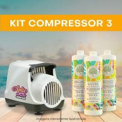 KIT 3 (Compressor + 3 litros)
