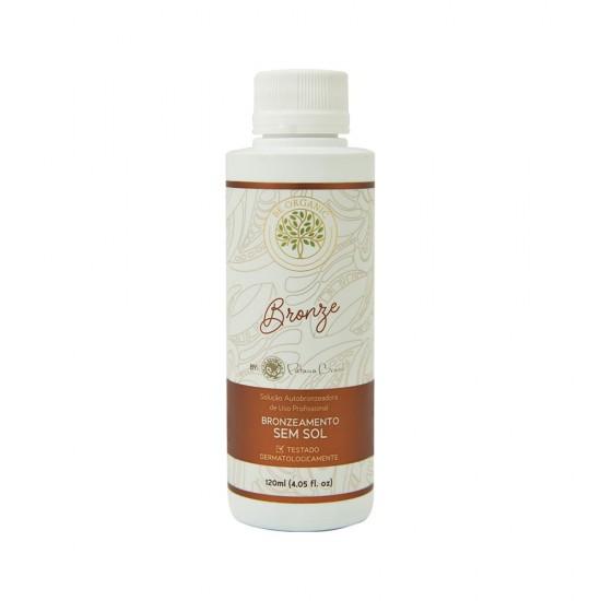 Solução Bronzeadora Be Organic - Bronze 120ml