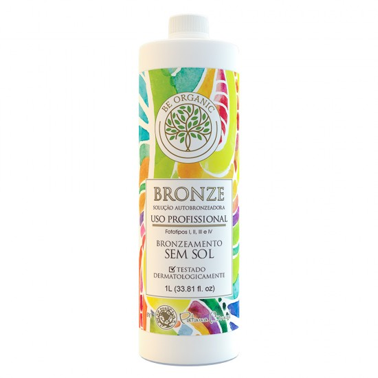 Solução Bronzeadora Be Organic - Bronze - 1 Litro