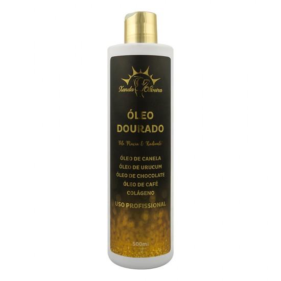 Óleo de Massagem Dourado - Xanda Oliveira 500ml