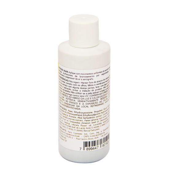 Solução Bronzeadora Be Organic - Silver - 50ml / 4 unidades
