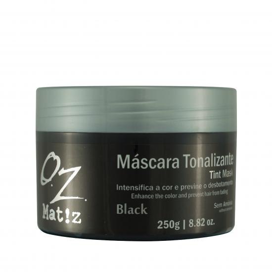 Máscara Tonalizante Black Oz 250g