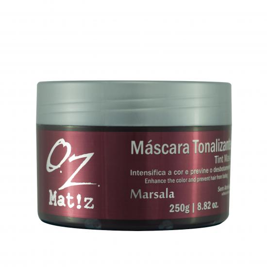 Máscara Tonalizante Marsala Oz 250g