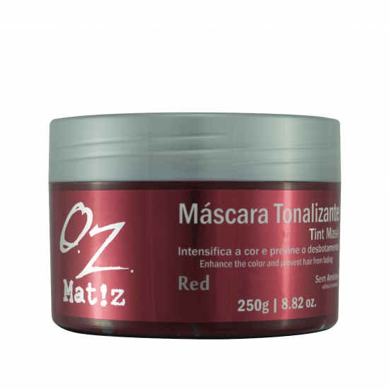 Máscara Tonalizante Red Oz 250g