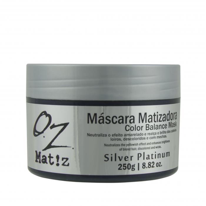 Máscara Tonalizante Silver Platinum 250g